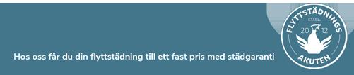 flyttstädningsakuten i Täby slogan